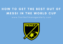 How to Get the Best out of Messi in the World Cup