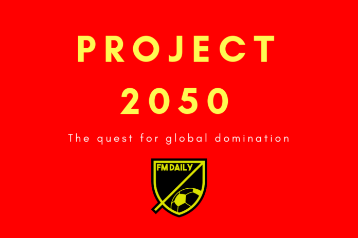 FM19 Project 2050 China